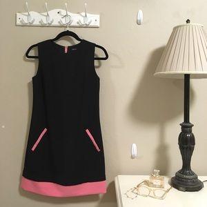 Black & pink formal dress